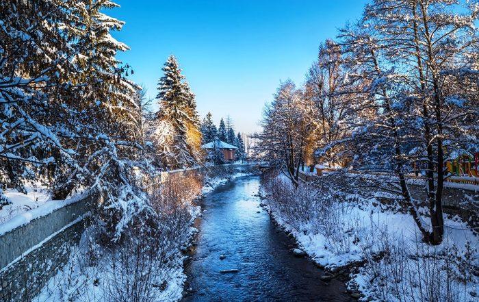 Велинград през зимата