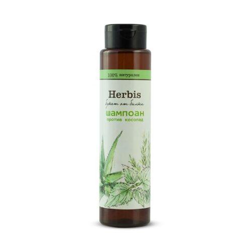 Натурален шампоан против косопад Herbis