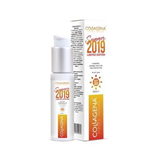 Слънцезащитен крем с дълбоко хидратиращо и anti-age действие COLLAGENA Instant Beauty