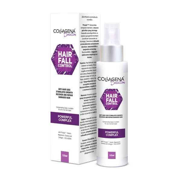 HAIR FALL CONTROL спрей против косопад COLLAGENA Solution