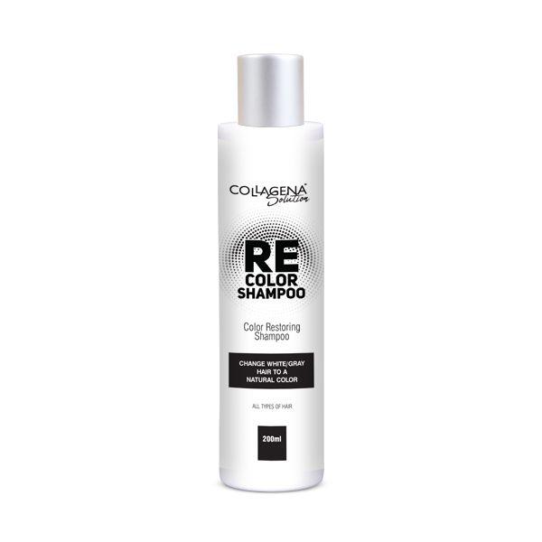REcolor SHAMPOO COLLAGENA Solution шампоан за възстановяване цвета на побелелите и посивели коси