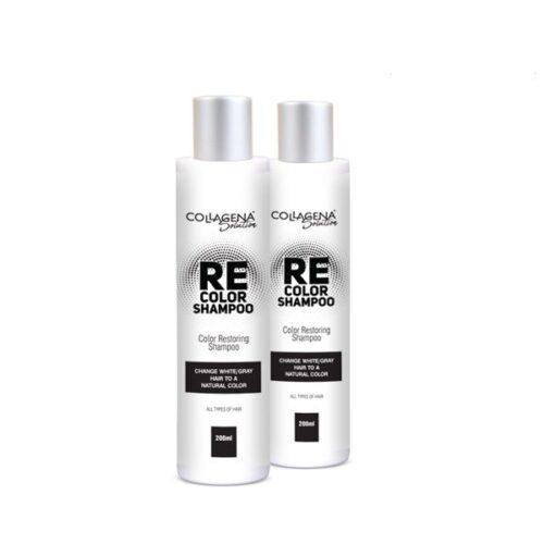REcolor SHAMPOO COLLAGENA Solution шампоан за възстановяване цвета на побелелите